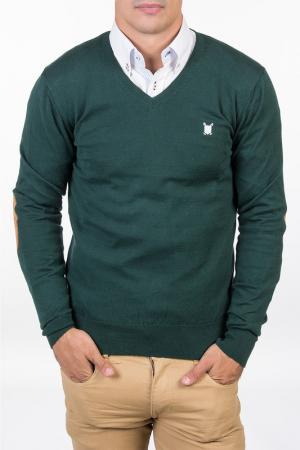 Пуловер POLO CLUB С.H.A.. Цвет: green