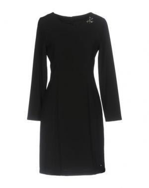Короткое платье NERO GIARDINI. Цвет: черный