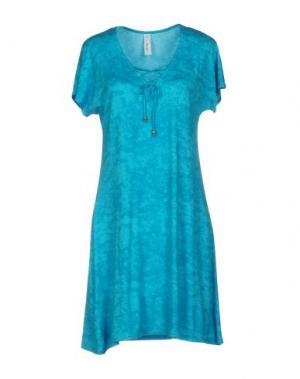 Ночная рубашка ANTIGEL. Цвет: бирюзовый
