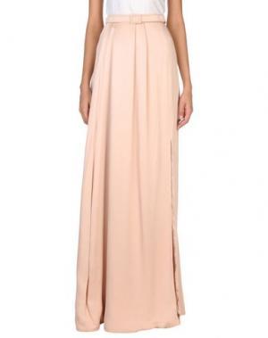 Длинная юбка JENNY PACKHAM. Цвет: светло-розовый