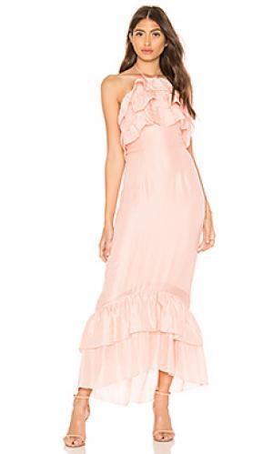 Платье Suboo. Цвет: розовый