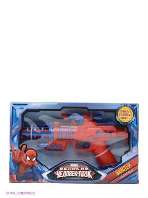 Космический бластер  Marvel Spiderman Играем вместе. Цвет: красный, синий