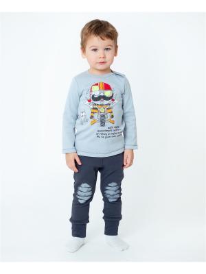 Комплект одежды VATAGA. Цвет: светло-серый, темно-серый