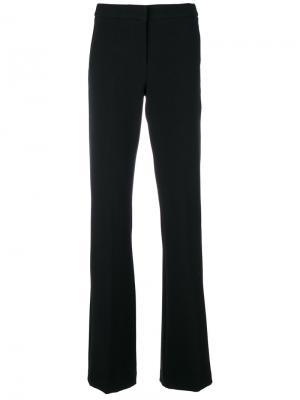 Расклешенные брюки с завышенной талией Ki6. Цвет: чёрный
