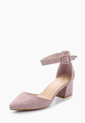 Туфли Mellisa. Цвет: фиолетовый