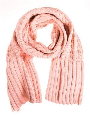 Шарф Vita pelle. Цвет: розовый
