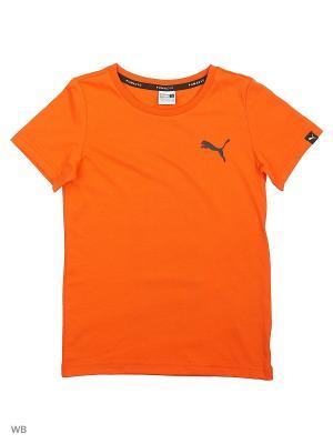 Футболка Evo Graphic Tee PUMA. Цвет: оранжевый