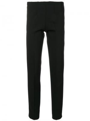 Классические приталенные брюки Pt01. Цвет: чёрный