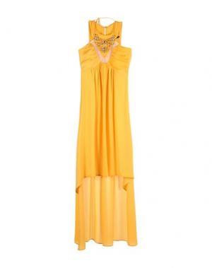 Платье длиной 3/4 ANNARITA N.. Цвет: желтый