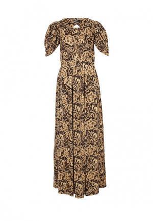 Платье MadaM T. Цвет: бежевый