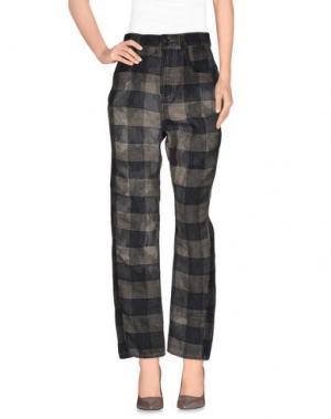 Повседневные брюки ADELE FADO. Цвет: темно-синий