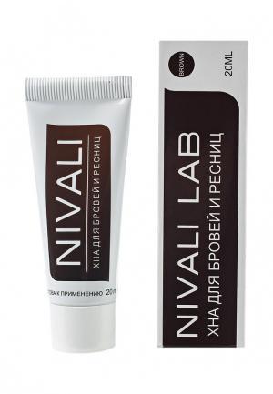 Тушь для бровей Nivali. Цвет: коричневый
