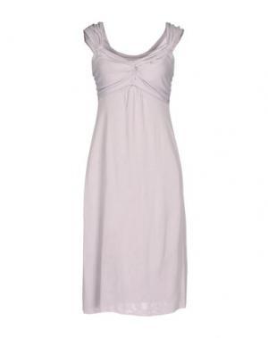 Платье до колена APPARTAMENTO 50. Цвет: сиреневый