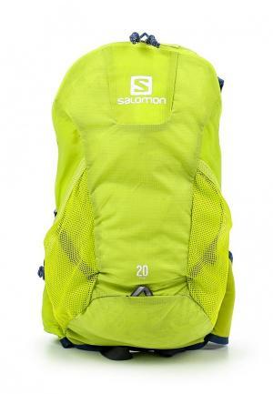 Рюкзак Salomon. Цвет: зеленый