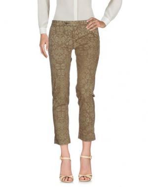 Повседневные брюки TRUE TRADITION. Цвет: хаки