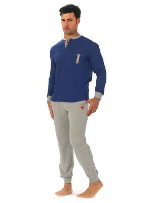 Пижама Renato Balestra. Цвет: синий