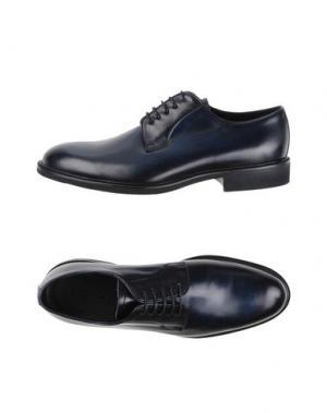 Обувь на шнурках CAMPANILE. Цвет: темно-синий