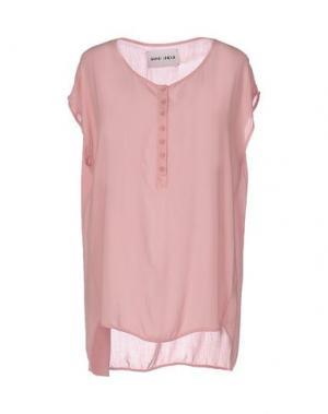 Блузка BRAND UNIQUE. Цвет: розовый