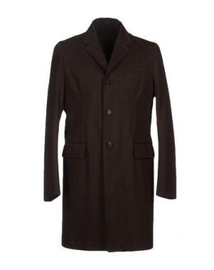 Легкое пальто MM by MARIOMATTEO. Цвет: темно-коричневый