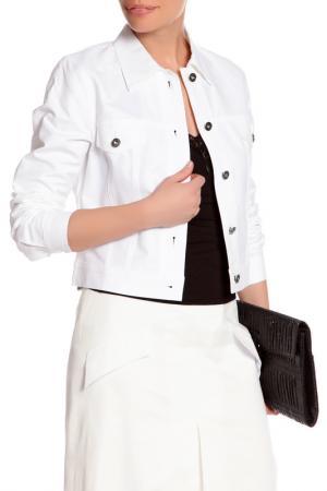 Куртка YARMINA. Цвет: белый