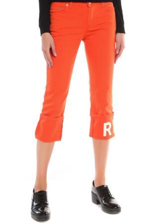 Бриджи John Richmond. Цвет: оранжевый