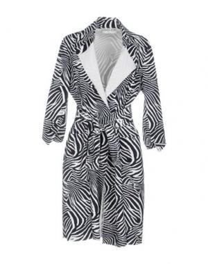 Легкое пальто CHIARA BONI LA PETITE ROBE. Цвет: черный