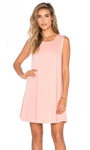 Платье Bishop + Young. Цвет: персиковый