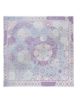Платок Eleganzza. Цвет: серо-голубой, светло-голубой, сиреневый