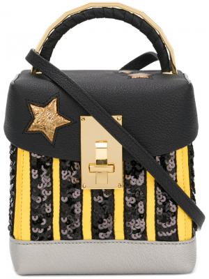 NY Taxi Box mini bag The Volon. Цвет: чёрный