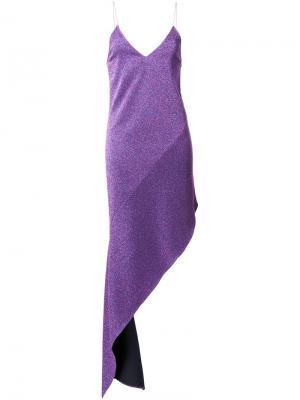 Платье Terry Wanda Nylon. Цвет: розовый и фиолетовый