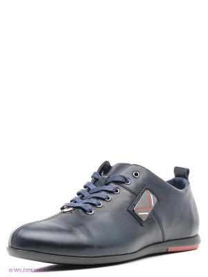 Ботинки ID! Collection. Цвет: темно-синий