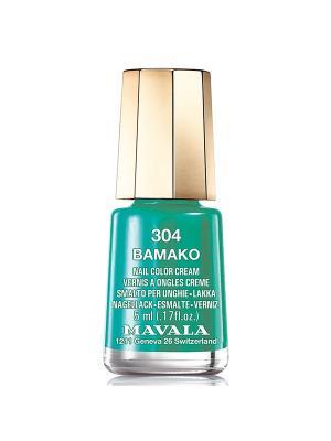 Лак для ногтей тон 304 Bamako Mavala. Цвет: зеленый