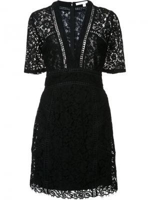 Платье Sage Veronica Beard. Цвет: чёрный