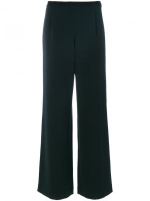 Широкие брюки Christian Wijnants. Цвет: зелёный