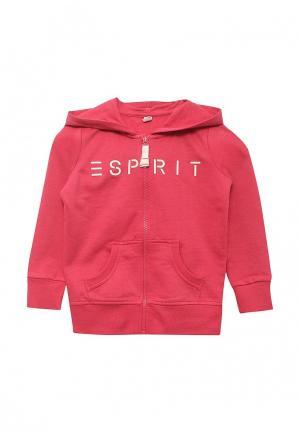 Толстовка Esprit. Цвет: розовый