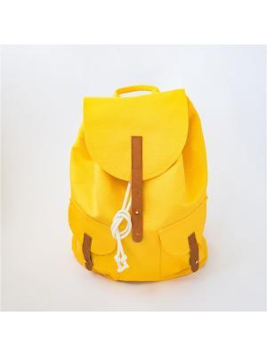 Городской рюкзак TIMBAG. Цвет: прозрачный, желтый