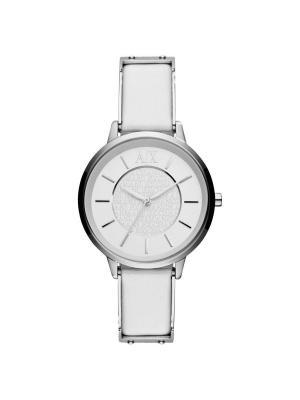 Часы Armani Exchange. Цвет: белый, серебристый