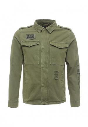 Куртка Just Key. Цвет: хаки