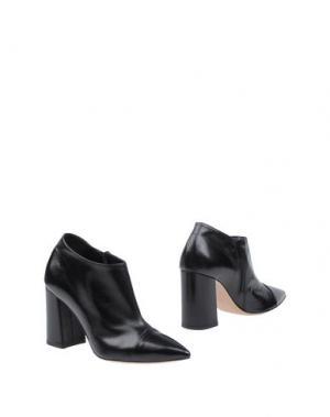 Ботинки FAUZIAN JEUNESSE. Цвет: черный