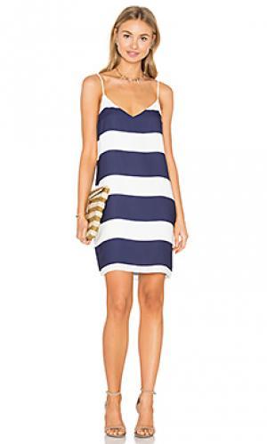 Платье-футляр Eight Sixty. Цвет: синий