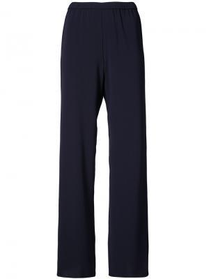 Широкие брюки Peter Cohen. Цвет: синий