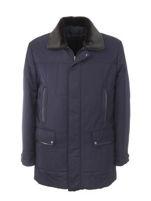 Куртка UID. Цвет: темно-синий