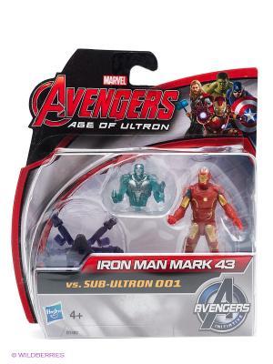 Мини-фигурки Мстителей Hasbro. Цвет: красный