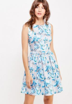 Платье Glam Goddess. Цвет: голубой