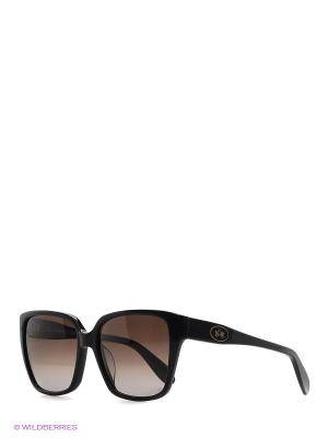 Очки солнцезащитные LM 501 01 La Martina. Цвет: черный