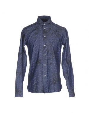 Pубашка BRANCACCIO C.. Цвет: синий
