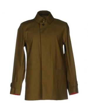 Легкое пальто SEALUP. Цвет: зеленый-милитари