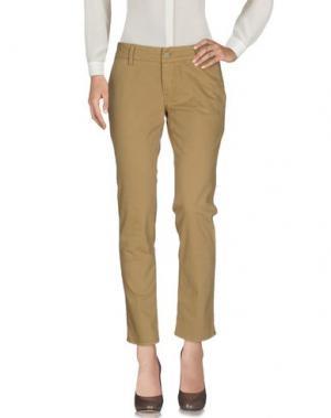 Повседневные брюки 2W2M. Цвет: песочный