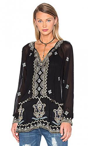 Блузка megan Tolani. Цвет: черный