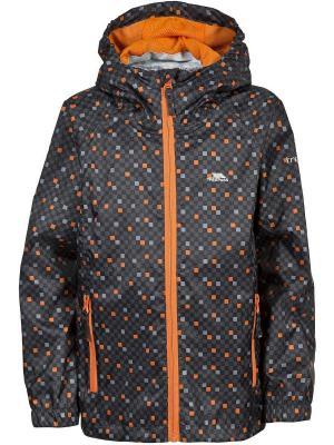 Куртка Trespass. Цвет: антрацитовый